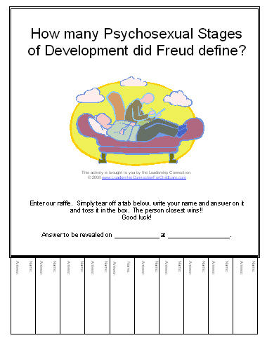 Psychosexual development definition